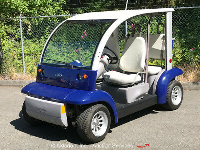 2002 Ford Think Neighbor 4-Seater 72V Electric Golf Utility Cart bidadoo