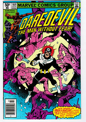 Daredevil #169 8.0 2Nd Elektra Appearance Frank Miller Run 1981 Ow/w Pages 🔑