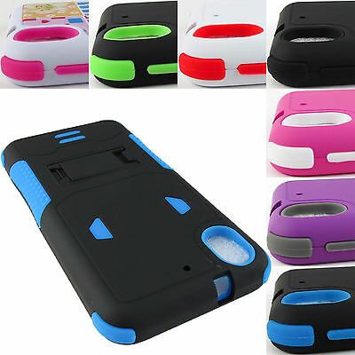 For Htc Desire Phones Shock Proof Dual Layer Case Phone Cover+Stylus/pen