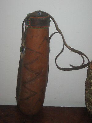Colourful Tribal Flask Or Food Container