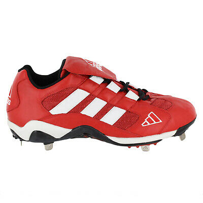 Adidas Mens Excel Promo Lo Baseball Cleats Shoes 661492-Red Sz 12.5