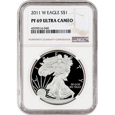 2011-W American Silver Eagle Proof - NGC PF69 UCAM