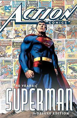 ACTION COMICS - 80 YEARS OF SUPERMAN HARDCOVER 384 Pages DC Comics HC