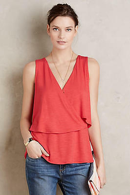 0b32d8178d57fb ANTHROPOLOGIE CLOTH   Stone Charleston Off-The-Shoulder Top XS S M ...