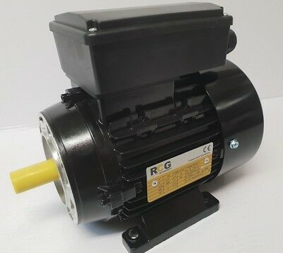 1.5HP 1.1kW 2800 RPM 240 Volt B14A Flanged/Foot Mount Industrial Electric Motor