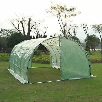 2x1x7ft Walk-in Greenhouse Vegetable Plants Growing House Heavy Duty Outdoor