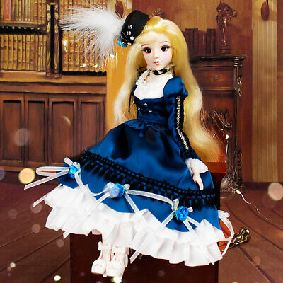 30cm Flexible 14 Joints Home Constellation Doll with Clothes Virgo Style