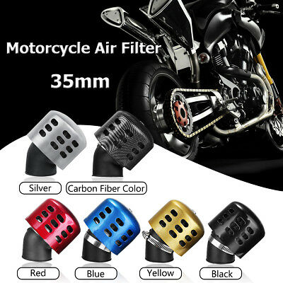 35mm Inlet Air Intake Filter Cleaner Intake Motorcycle Scooter ATV Dirt Pit Bike