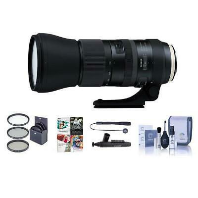 Tamron SP 150-600mm f/5-6.3 Di VC USD G2 Lens f/Sony Alpha W/Free Acces. Bundle