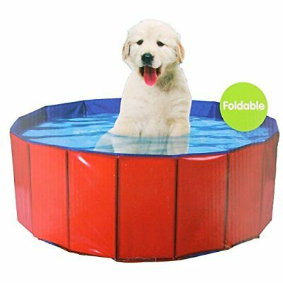Collapsible Portable Dog Paddling Pool Outdoor Pet Bath Puppy Bathing Pool