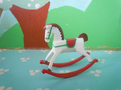 Hallmark Merry Miniature 1985 Mini Rocking Horse Christmas  Collection