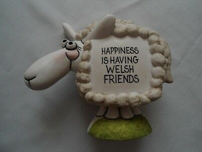 Grogg Sheep Wales  Signed Hughes