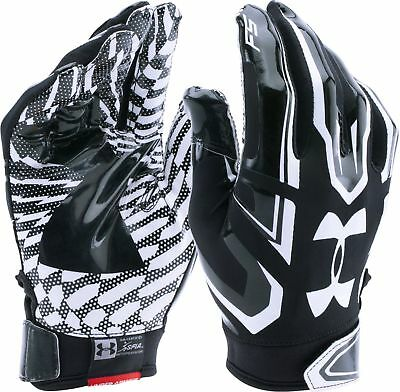 Under Armour Boys Youth F5 Football Gloves Youth Small 24 99