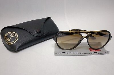 4f8c1088111 RAY-BAN CATS 5000 RB4125 710 51 Light Brown Gradient Lenses Tortoise ...