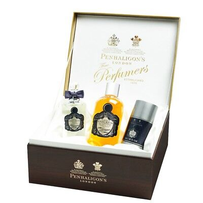 Penhaligon Endymion Collection 3 Piece Gift Set New In Box