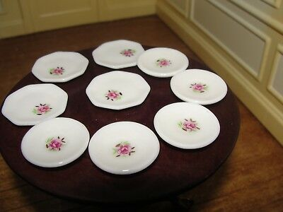Dollhouse Miniature Group of Assorted Dishes