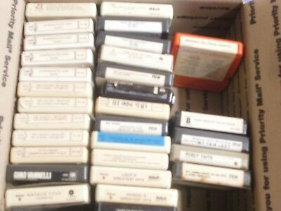 8-Track Tape Lot #1.. Classical, Swing, Big Bands, Pops, 50'S, X-Mas (30) Total
