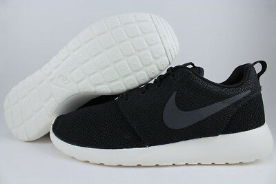 purchase cheap 4af52 616a9 Nike Roshe One Black/anthracite Gray/sail Off White Running Run Us Mens  Sizes