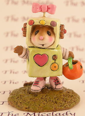 ROSIE ROBOT by Wee Forest Folk, WFF# M-399b, LIME GREEN