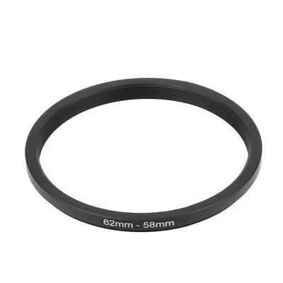 62mm To 58mm 62-58mm 62 To 58 Metal Step Down Rings Lens Stepping Adapter Filter