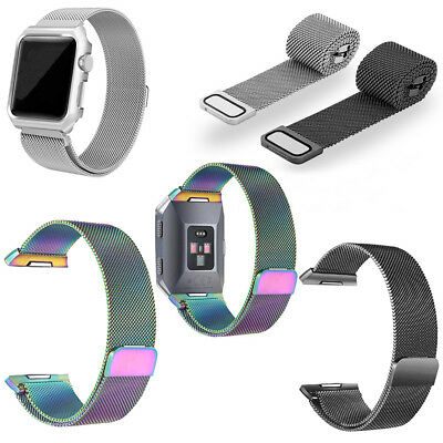 Magnetic Wrist Band Stainless Milanese Strap Replacement For Apple Watch 38/42mm