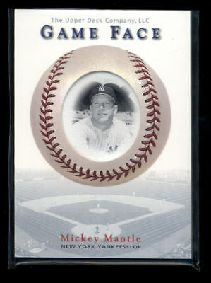 Mickey Mantle 2003 Upper Deck Game Face #162 Shortprint Sp  Ad1246
