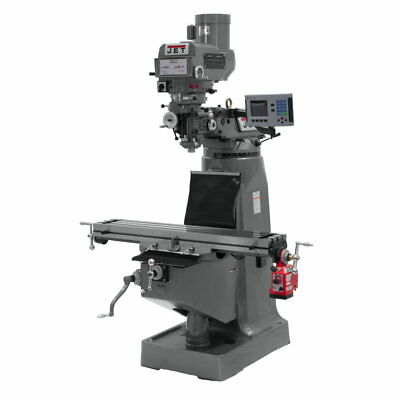 Jet 690178 JTM-4VS-1 Mill With X-Axis Powerfeed