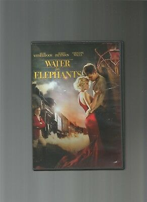 Water for Elephants, Reese Witherspoon, Robert Pattinson, Christoph Waltz, DVD