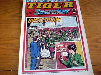 Tiger and Scorcher Comic Collection 77 issues between 1974 - 1977