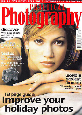 Practical  Photography magazine  Canon EOS 33 & Sigma SA-9  on test   July  2001