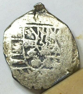 Mexico Cob 4 Reales Treasure Coin ND (1621-1665) Very Good Condition NO RESERVE