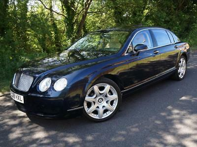 2008(08) Bentley Continental Flying Spur 6.0 W12 Saloon Automatic Metallic Blue