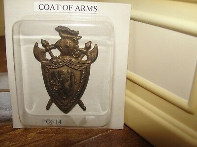 Dollhouse Miniature Coat of Arms  NRFP