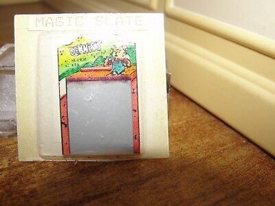 Dollhouse Miniature Magic Slate   NRFP