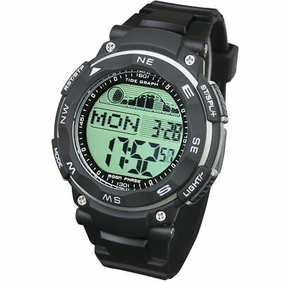[LAD WEATHER] Tide graph watch Moon phase High & Low tide Pacer Fishing/ Surfing