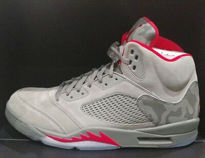 7ef769c016f10c Nike Air Jordan 5 Retro Camo Dark Stucco University Red (136027-051) P51