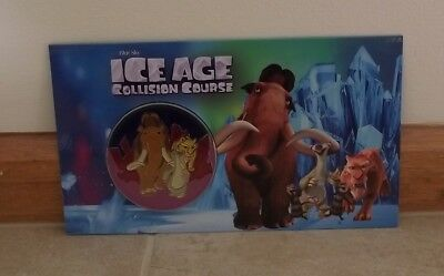 Ice Age Collision Course 2016 Collectable Medallion Cover ~ New
