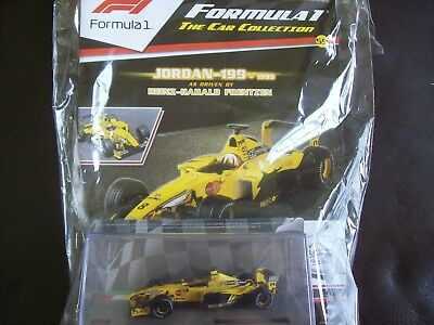 Formula 1 The Car Collection Part 59 Jordan 199 1999 Heinz-Harrold Frentzen