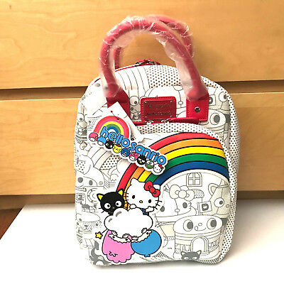 2aa2bc8bc LOUNGEFLY SANRIO HELLO Kitty Retro Mini Backpack Boxlunch Exclusive ...