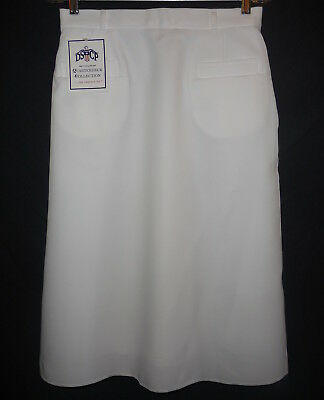 Wholesale lot of 16 US Navy White Skirts, High Military Quality, size 14