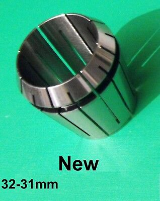 set of 6 ER40 oversize collets 32-26mm increase the capacity of your chuck