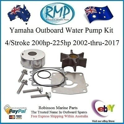 Water Pump Suits Yamaha 200hp-225hp 4 Strokes 2002-Thru-2017 R 61A-W0078