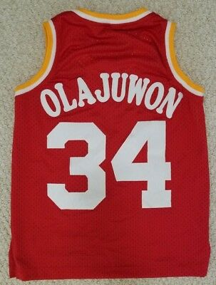 f6e0a22b5 Mitchell Ness Hakeem Olajuwon Houston Rockets Swingman Jersey NBA Youth Boys