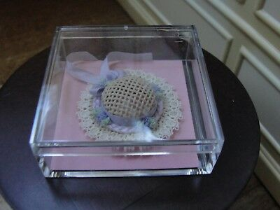 Dollhouse Miniature Ladies Straw Hat  MIC