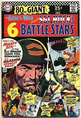 OUR ARMY AT WAR #177 VG, 80 Page Giant G-37, Sgt Rock, DC Comics 1967