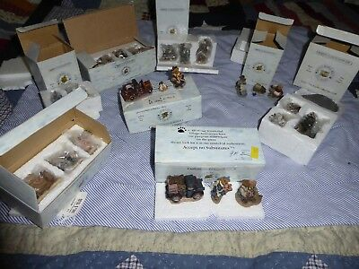 9 Boyds  Wunnerful Village Accessory In Box Resin