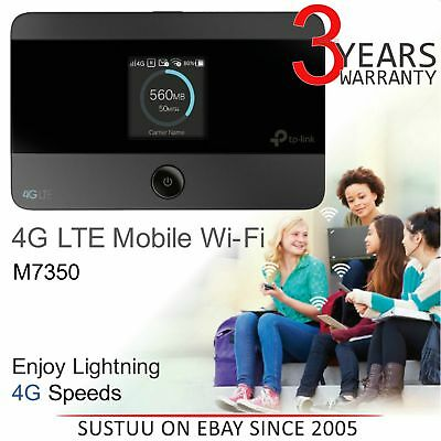 TP-Link M7350 V4 4G Low-Cost LTE-Advanced Mobile Wi-Fi│Dual-band Hotspot/ Router