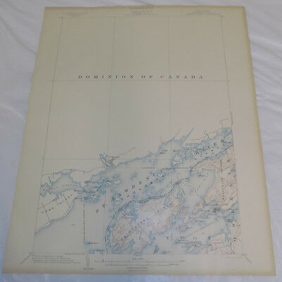 1903 Topographic Map of GRINDSTONE QUADRANGLE, JEFFERSON COUNTY, NEW YORK