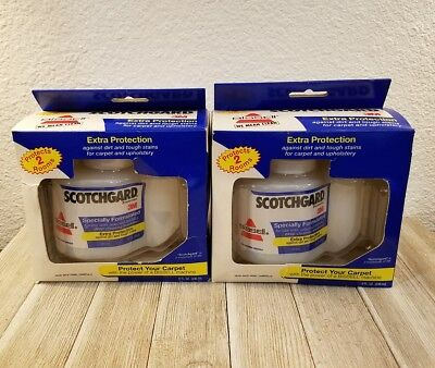 Lot of 2 BISSELL SCOTCHGARD PROTECTOR 3M Extra Protection FREE SHIPPING carpet
