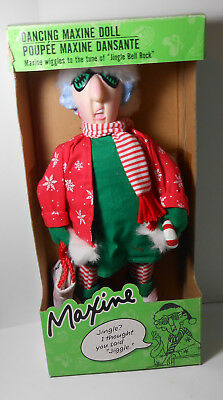 Dancing Hallmark Maxine Doll w box Wiggles and works perfectly